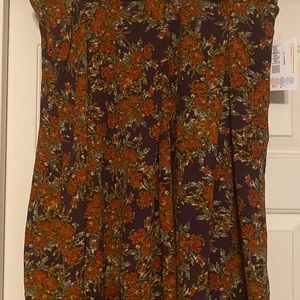 NWT XL Lularoe Madison skirt with pockets